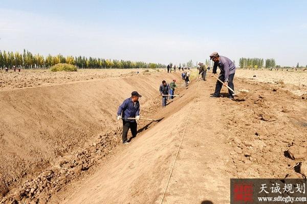 宁夏农田水利建设节约水资源并提高乡村颜值