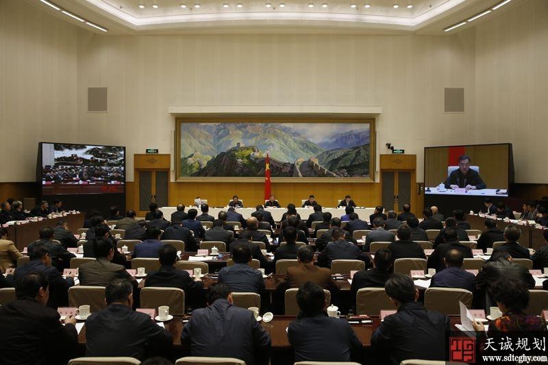 国务院召开全国冬春农田水利基本建设电话电视会议