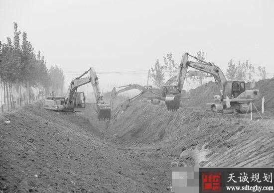 德州陵城区力抓农田水利建设工程提高生活质量