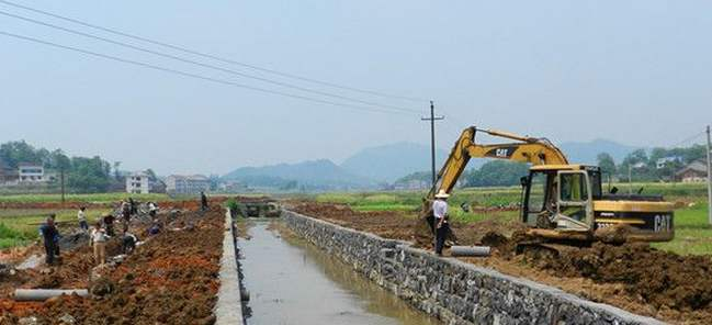 农田水利基础建设是保证粮食安全生产的至关因素