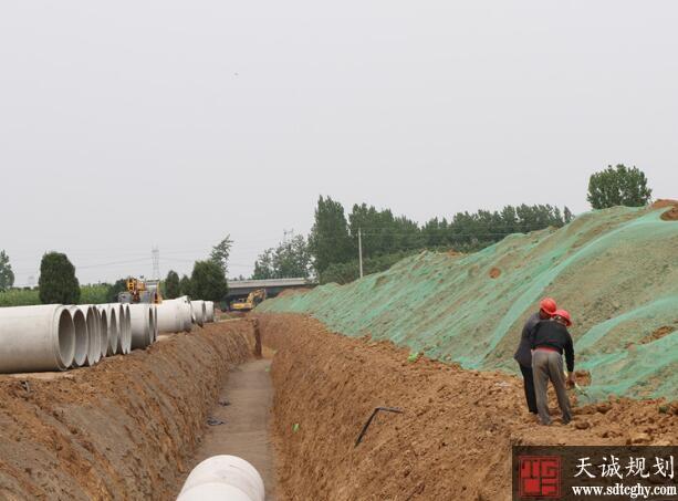 郏县启动了水系连通及农村水系整治实现水系连通循环