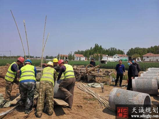 淄博高标准农田水利设施建设有序推进
