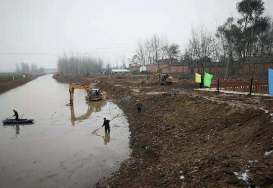 萧县筹措1.3亿余元农田水利建设资金提高农田水利能力