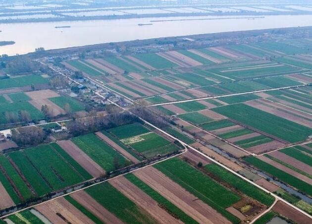 盱眙耕地化零为整变横平竖直的连片标准农田